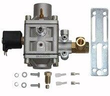 CNG Regulador Integrado com Válvula Solenóide para Sistema De Injeção Seqüencial em Carros A Gasolina