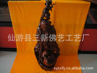 Manufacturers Supply Hand Carved Buddha Home Furnishing Wood Carving Decoration Environmental Classical Small Ornaments