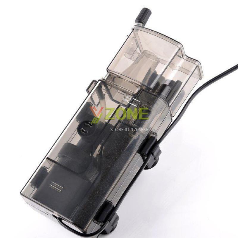 3.5 w Acrylique Mini Protéine Aquarium Skimmer sans Huile Pompe À Filtre Pour Fish Tank Entretien de L'eau 300l/h pour Aquarium