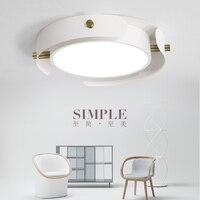 Abajur Moderno Simples Rodada LED Vivendo Lâmpada Do Teto Sala de Madeira Nórdica Hanglamp para Quarto de Estudo Em Casa Deco Luz de Teto Luminárias|Luzes de teto| |  -