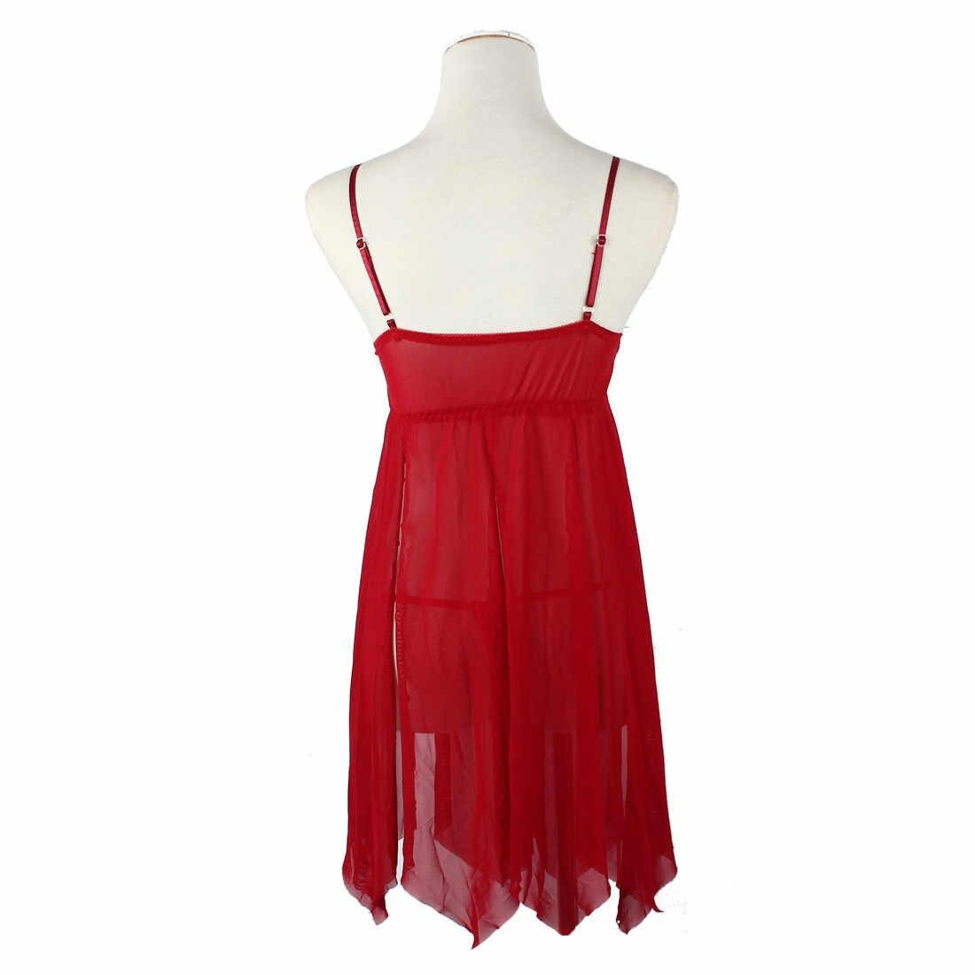 bac82cfb44 ... Popular ropa interior Sexy ropa interior ropa de dormir encaje vestido  G-string Nightwear Lingerie ...