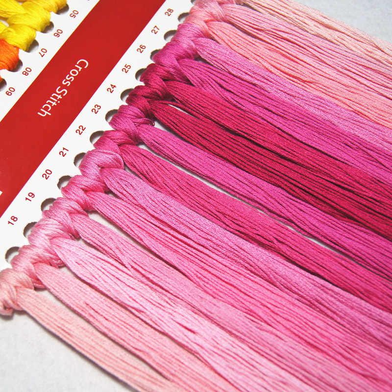 14/16/18/27/28 bloempot en vogels geteld 11CT 14CT Kruissteek Set DIY DMC Chinese kruissteek Kit Borduurwerk Handwerken