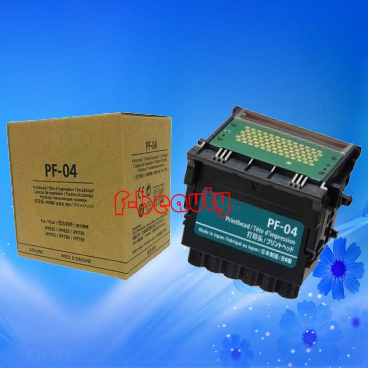 Original New PF-04 Printhead Print Head for Canon iPF650 iPF655 iPF750 iPF755 iPF760 iPF765 iPF680 iPF685 iPF780 iPF785 Printer for canon pf 04 printhead for canon ipf650 ipf655 ipf750 ipf755 ipf760 ipf765 priner head