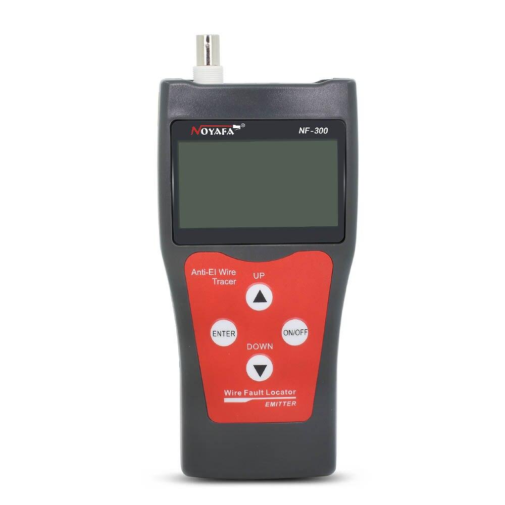 NF-300 Noyafa d'origine pour BNC USB RJ11 téléphone RJ45 LAN traqueur de fil réseau Anti-interférence tonalité traceur testeur de câble - 4