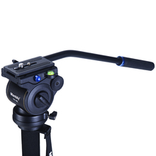 Manbily Video Camera Damping Fluid Tripod Head Hydraulic Head Panoramic Head for Slider Monopod DSLR Camera Shooting Video Film