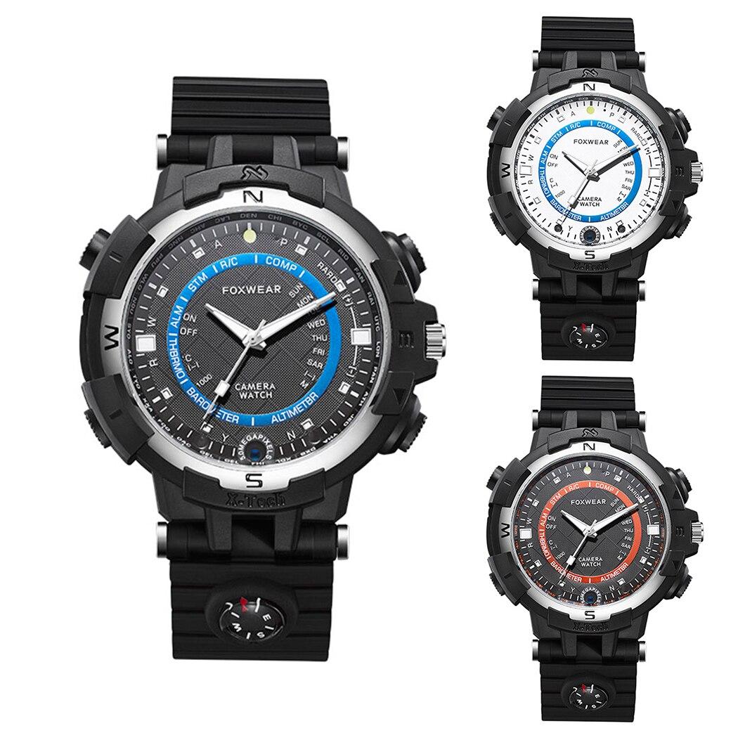 FOX8-3 Smartwatch 32 ГБ Оперативная память Ночное видение компас фонарик Wi-Fi Беспровод ...