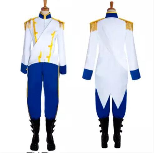 La Petite Sirène Prince Eric Cosplay Costume Sur Mesure