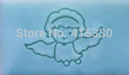 Free shipping The angel pattern Mini diy soap stamp chaprter seal 5*4cm the infernal devices 1 clockwork angel