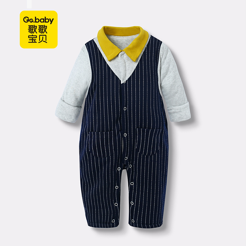 Thick Striped Baby Rompers Winter Newborn Baby Boys Romper Long Sleeve Jumpsuit Boy Clothes Baby Overalls Jumpsuits Kids Outfits стоимость