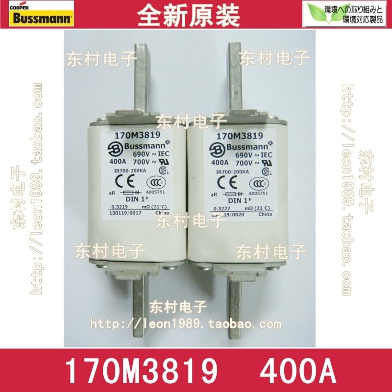 US BUSSMANN Fuse 170M3819 170M3819D 400A 690V / 700V fuse