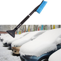 2017 New Car Vehicle Moto Snow Ice Scraper SnoBroom Snowbrush Shovel Removal Brush Winter Car Styling