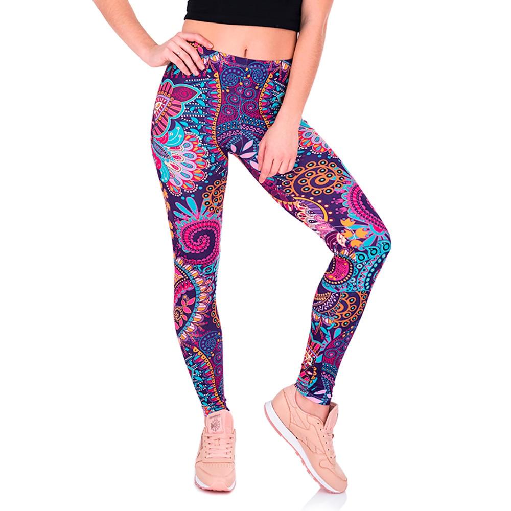 KLV  fitness sport leggings YOGA PANTS FOR Women Casual Printed Yoga Fitness Leggings Gym Stretch  Pants Trousers #@F leggings