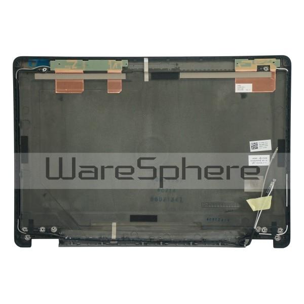 Új a Dell Latitude E7470 7470 LCD hátsó fedél hátsó fedelének tokjához WLAN3X3 0HF58X HF58X AM1DL000503 fekete