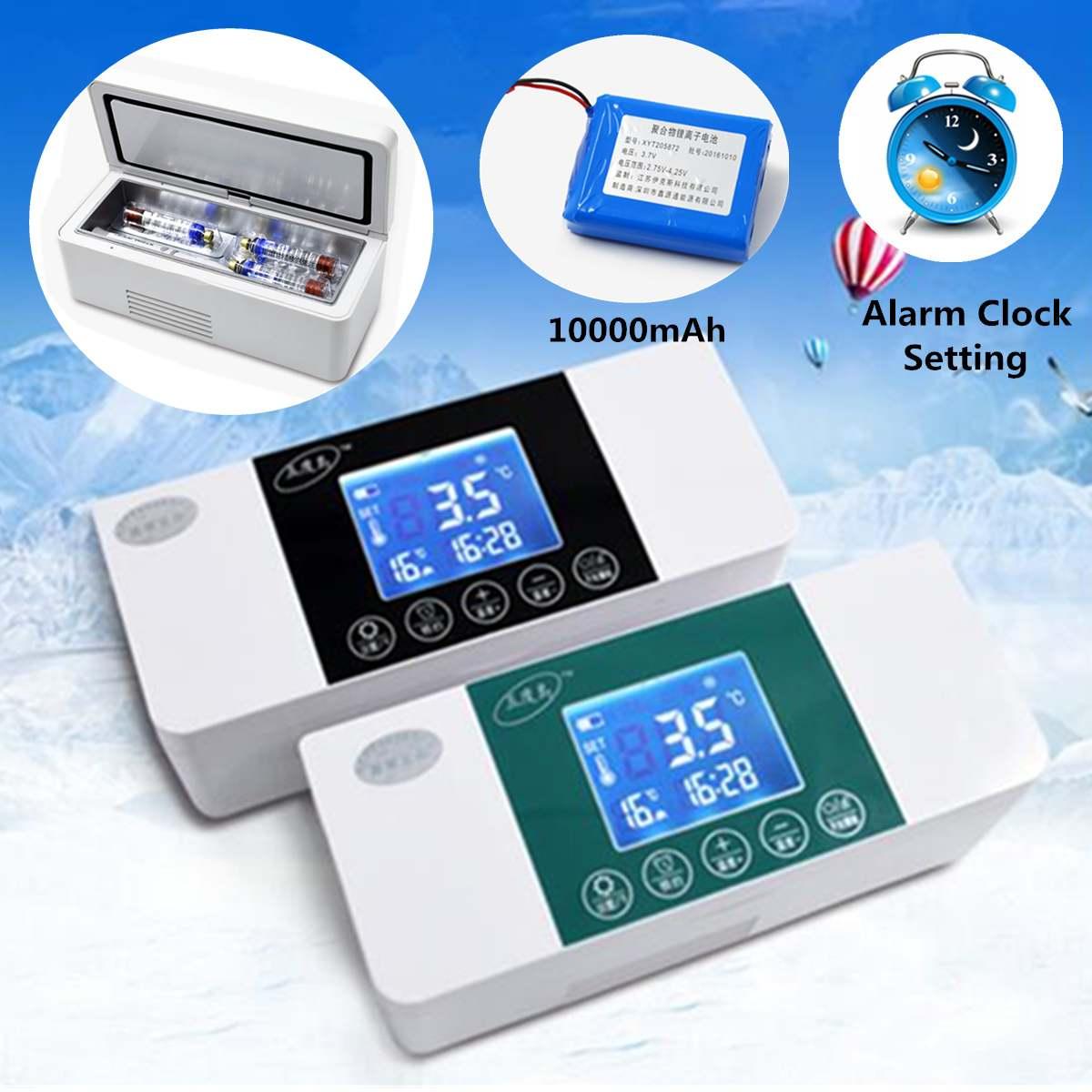 USB Rechargeable réfrigérateur Mini réfrigérateur Portable insuline stockage refroidisseur sac diabétique insuline glacière boîte de voyage sac