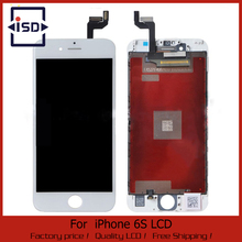 10PCS/LOT LCD Display For Apple iPhone 6S Touch Screen Digitizer Frame Full Set Assembly Replacement