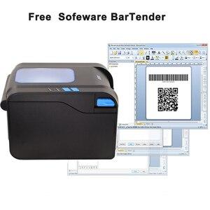 Image 5 - Xprinter Label Barcode Printer Thermal Receipt Label Printer Bar Code QR Code Sticker Machine 20mm 80mm Auto Stripping 370B