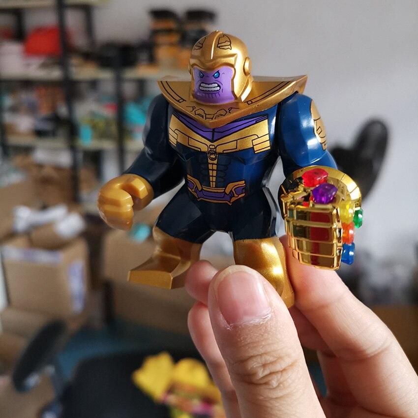Avengers Infinity War 3 Building Blocks Action Figures Thanos Gauntlet Glove Toy