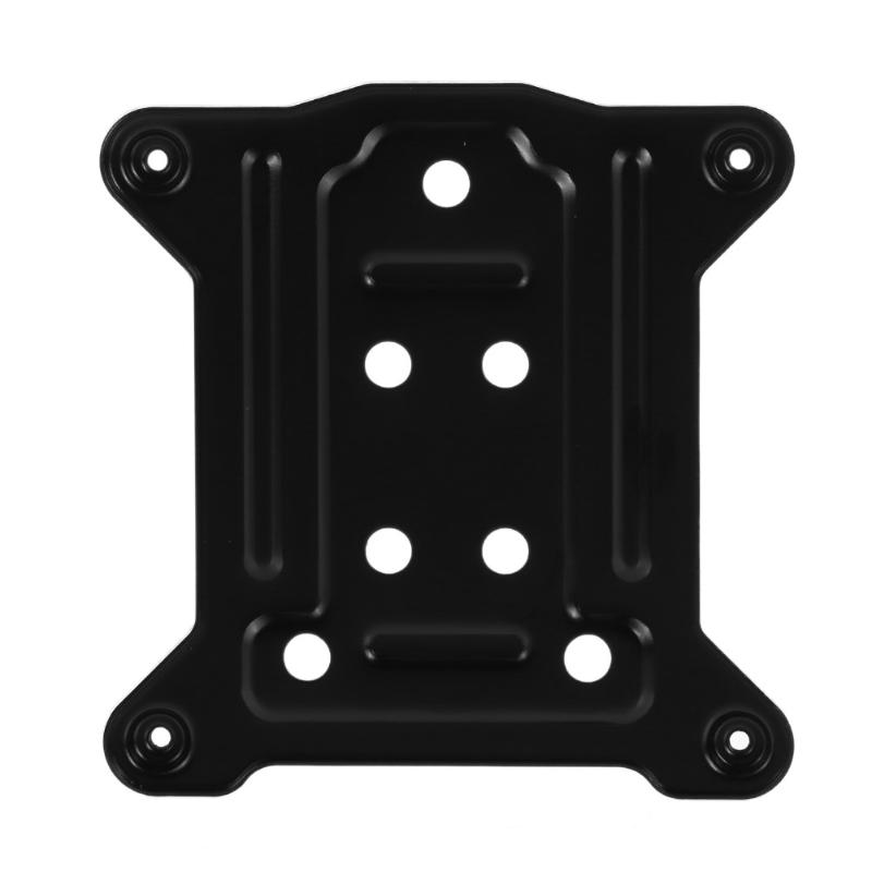 75x75mm PC CPU Metal Back Plate Bracket Cooling Radiators Backplane For INTEL Platform /I3/ I5/ I7/ 1155 1156 1150 Mainboard New