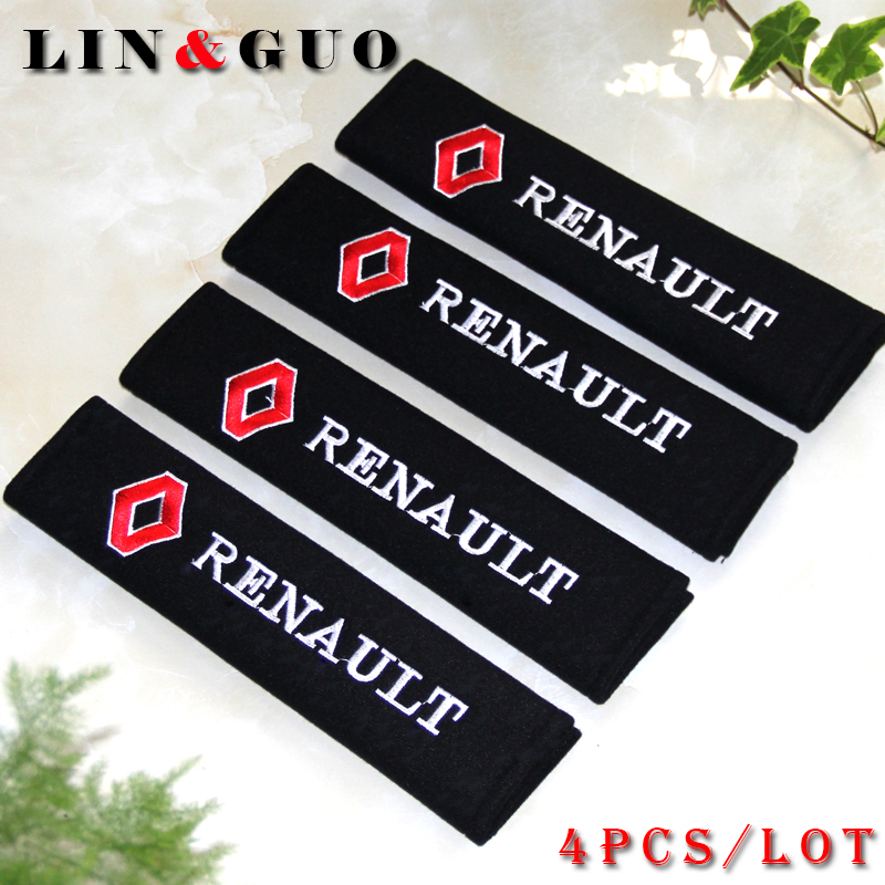 4PCS/set all cotton case for Renault duster megane 2 logan renault clio car styling