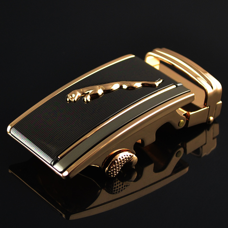 Men's Business Alloy Automatic Buckle Unique Men Plaque Belt Buckles Ratchet Men Apparel Accessories Leather Belt Men LY1752