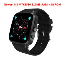 Newest Bluetooth Smart watch X04 plus Android 5.1 MTK6580 Quad Core 512MB RAM 8GB ROM Support 3G GPS WiFi Smartwatch VS X5 plus
