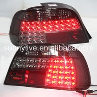 For BMW E38 728 730 735 740 750 LED Tail Lights 1995 2002 Year Smoke Black Color SN