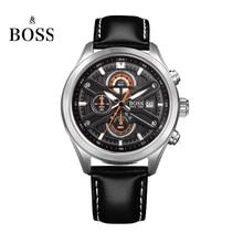 БОСС Германии часы мужчины люксовый бренд speed master Нюрбургринге серии хронограф световой черный relogio masculino