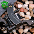 Professional Compass Tattoo Machine Liner & Shader Steel Frame Copper Coils Tattoo Gun