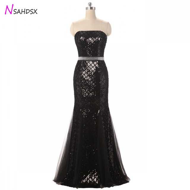 Summer Dress Hot Sale Made Plus Size Fashion 2019 Sequins Lace Party Dresses Evening Hosting Banquet Birthday Slim New Vestidos