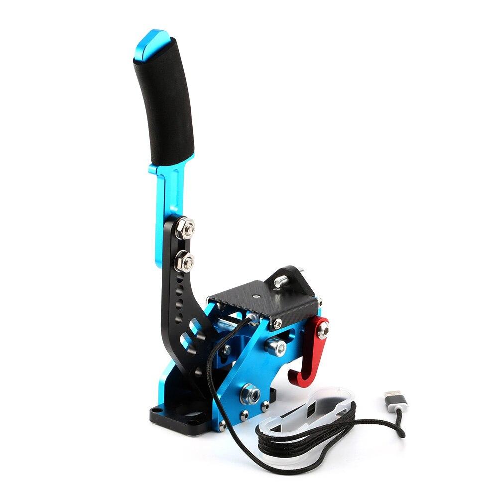 Bleu Logitech système de frein à main Auto pièces de rechange USB frein à main + pince pour SIM jeu de course pour G27/G29/G920 T300RS