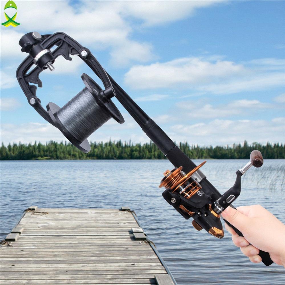 Jsm Portable Fishing Line Winder Spooler Machine Spinning Baitcasting Reel Spool Spooling