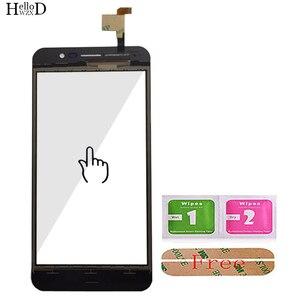 Image 5 - Mobile Touch Screen Digitizer Panel Front Glas Für Homtom S12 Touchscreen Touchscreen Sensor Werkzeuge + Kostenloser Klebstoff