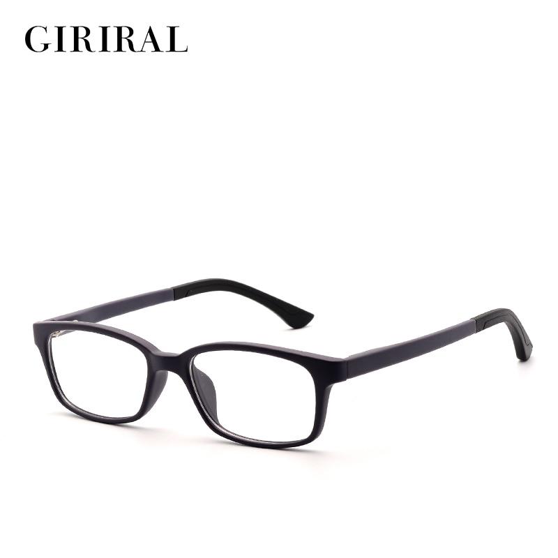 TR90 vaikai Akinių rėmelis mielas, aiškus optinis trumparegystės dizainerio stiklas