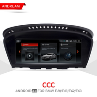 8 8 Quad Core Android 4 4 Vehicle Multimedia Player For BMW Series 5 E60 E61