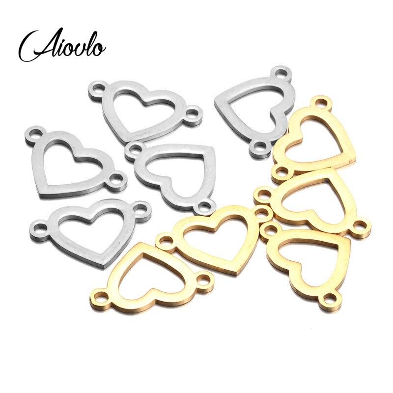 10pcs Bronze Alloy Charms Pendants Connectors Jewelry Findings Lot Size