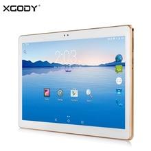 XGODY K10T 3G 10.1 Pulgadas Tablet PC Android 4.4 MTK MT6582 Quad Core 1 GB RAM 16/32 GB ROM Unlock Dual Sim Llamada de Teléfono de 10 pulgadas Tablet