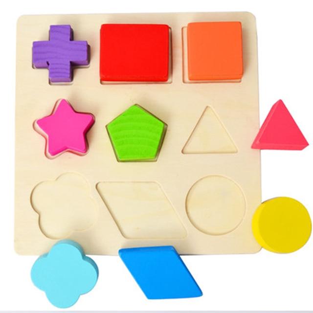 Rompecabezas Para Ninos 3 Anos Rompecabezas Juguetes De Madera Cubos