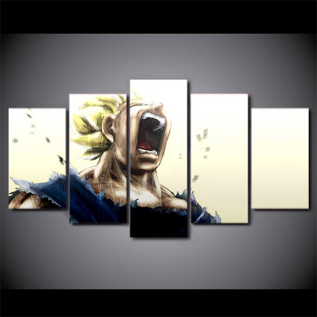 Dragon Ball Z Vegeta Super Saiyan Painting