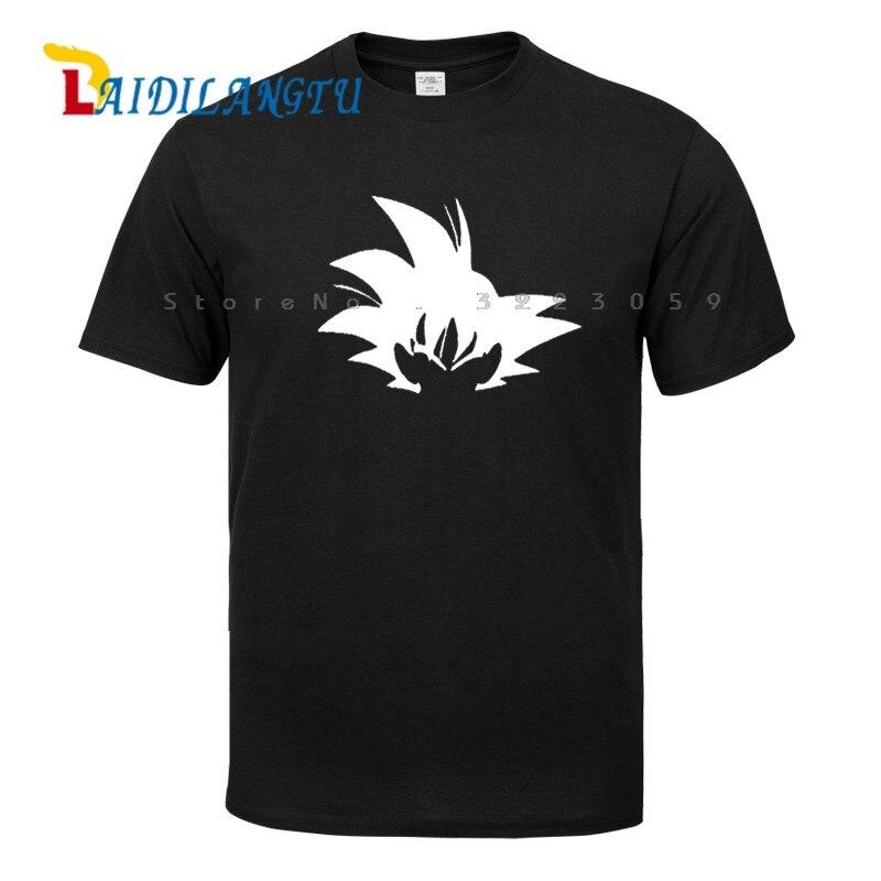 Japonais Dragon Ball Z Anime DBZ SUPER SAIYAN Drôle T-shirt Goku VISAGE Personnalisé