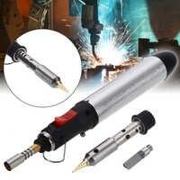 Portable Cordless Flame Butane Tip Tool 4 in 1 Gas Soldering Iron Kit Welding Pen Burner 12ML Welding Soldering Kit