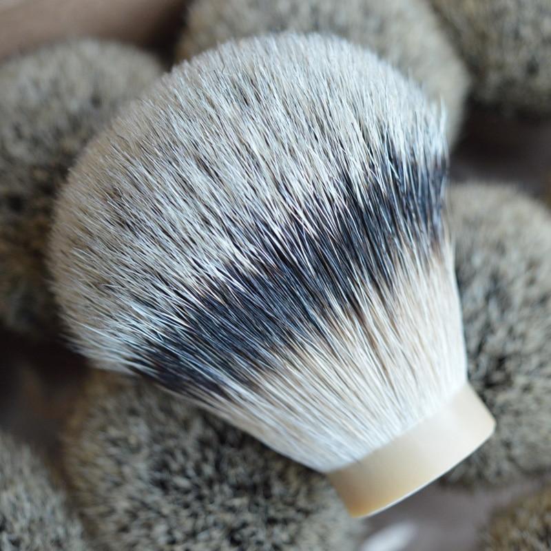 DSCOSMETIC 26mm high mountain badger hair shaving brush knots finest silvertip natrual soft badger hair brush