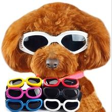 Foldable Pet Dog glasses medium Large Dog Su.glasses Pet eyewear waterproof Dog Protection Goggles UV glasses Sun-resistant