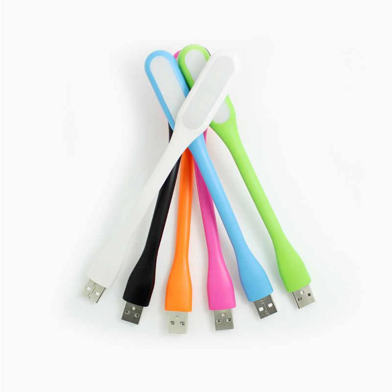 새로운 여러 가지 빛깔의 미니 유연한 USB Led USB 라이트 테이블 램프 가제트 usb 핸드 램프 전원 은행 PC 노트북 노트북 안드로이드 전화 번호