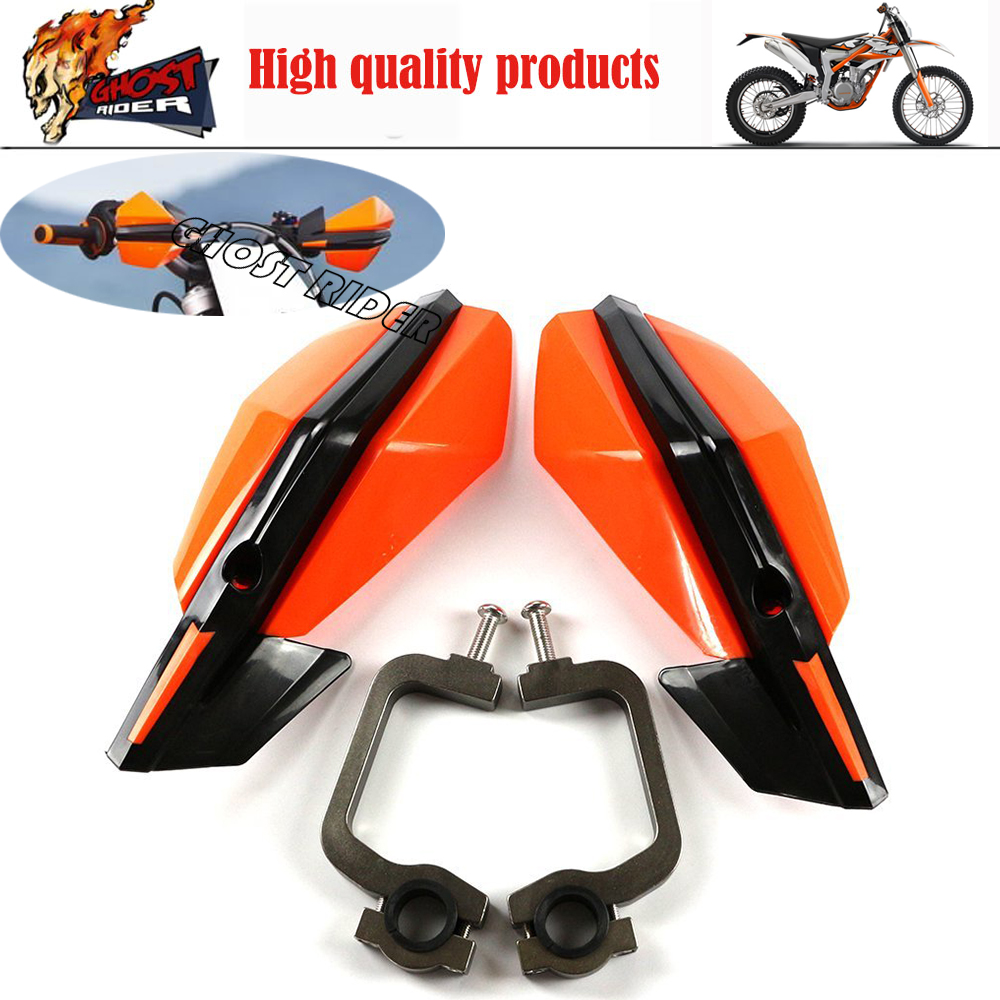 Motorcycle Handlebar handguards Hand Guards For KTM SX EXC ADV SMR Dirt Bike Motorcross 7/8 22mm Or 1-1/8 28mm FatBar atv motorcycle wind shield handle hand guards motocross transparent handguards for honda cbf600 sa cbf1000 a cb1100 gio nc750