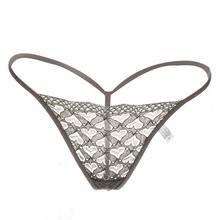 1 PC Nouveau Gros Taille Basse Mémoires Femmes de Mini Mémoires String  Dentelle Transparente T-retour Lot En Vrac Sexy Lingerie . f0cce90a34b