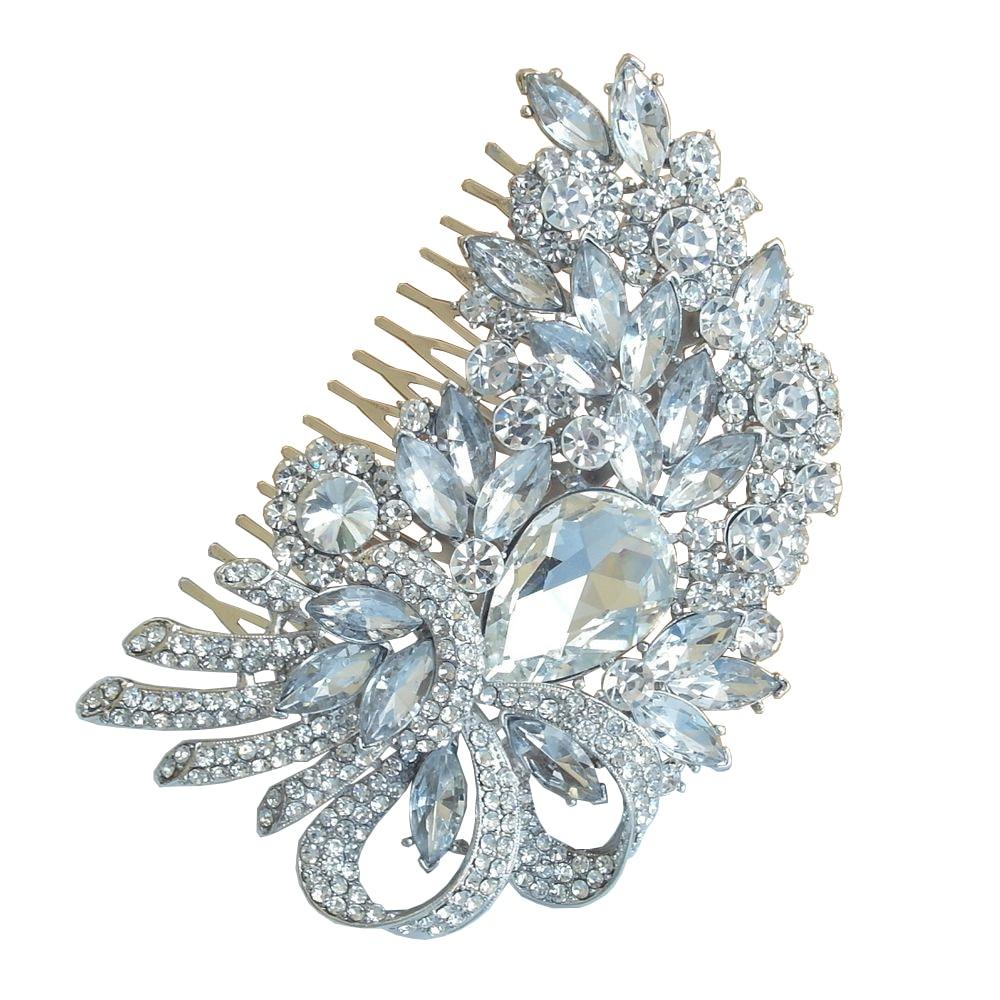 bridal hair accessories wedding hair comb bridal rhinestone