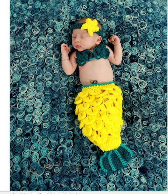 Envío gratis ropa tejida a mano estudio foto fotografía del bebé ...