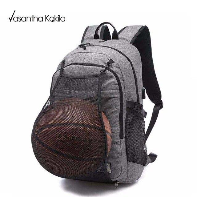 Nylon Grey Backpack Waterproof Men's Back Pack 14-15 Inch Laptop Mochila High Quality Designer Backpacks Male Escolar CX371
