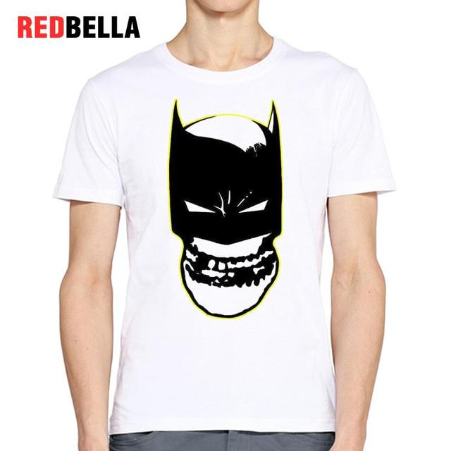 US $13 32  REDBELLA T shirt Tops Men Horror Spoof Funny Hero Cool Punk  Drawing Hiphop Camiseta Masculina Printing T Shirt 100% Cotton Sale-in  T-Shirts