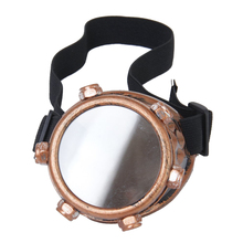 Safety goggles Vintage Steampunk cyclops Gothic Cosplay Costume for the left eye (copper)
